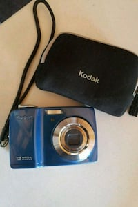 blue and black Samsung point-and-shoot camera Riverside, 92505