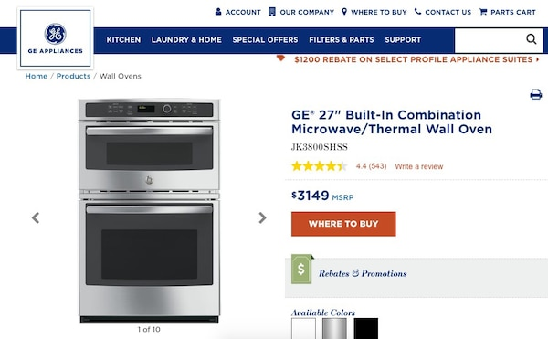 Used and new oven in Baldwin Park - letgo