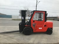 Nissan 11000 lb heavy duty forklift w/cab in excellent condition. Mississauga