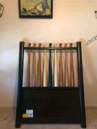 Twin baseball bat bed and matching desser  Tomball, 77375