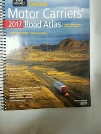 2017 road atlas with laminated pages Oklahoma City, 73127