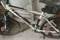white and black Salcano hardtail mountain bike Schuylerville, 12871