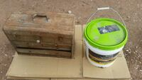 hard wood floor glue $50 tool box $45 Las Vegas, 89104