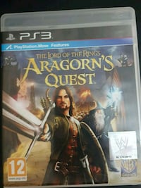 Lord of The Ring Aragon's Quest Ps3 Oyunu