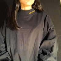 BLACK SWEATER SIZE 2XL Montreal