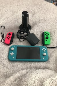 Nintendo Switch Lite with extras
