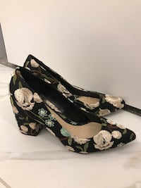 Embroidered Floral Block Heels (Rampage) Calgary, T3M