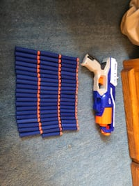 Blue and orange nerf gun Little Falls, 56345