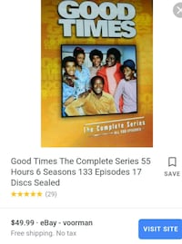 Good times complete series DVDs Centreville, 20120