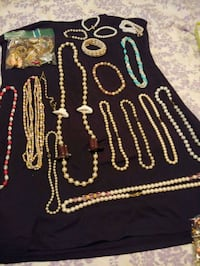 four assorted color beaded necklaces Littlestown, 17340