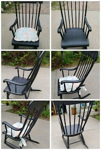 Antique Rocking Black Chair St. Cloud, 56301