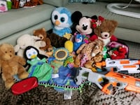 toddler's assorted plush toys Arlington, 22201