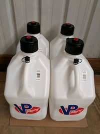 New white VP fuel jug/gas can for sale