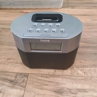iHome Dual Alarm Clock/Docking Station Layton, 84040