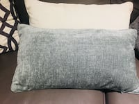 1 teal and 1 white coloured rectangular pillow  Toronto, M6G