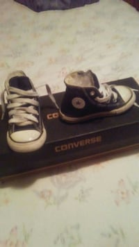 pair of Blue Converse All Star high-top sneakers Modesto, 95355