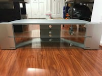 Grey  glass  TV stand 25 km