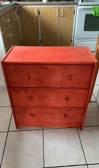 Small 3 drawer