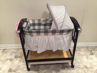 Absolutely new baby's black and white bassinet TORONTO
