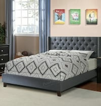 Queen bed with mattress $350 North Miami, 33161