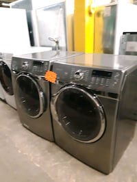 SAMSUNG FRONT LOAD WASHER AND DRYER SET WORKING PERFECTLY Baltimore, 21201