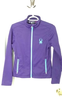 SPYDER PURPLE ZIP UP SIZE SMALL Mississauga, L5J 3J5