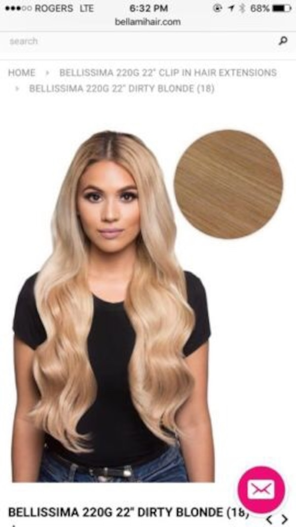 Used Brand New Bellami Hair Extensions For Sale In Toronto Letgo