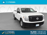 2018 Nissan Titan King Cab pickup S Pickup 4D 6 1/2 ft White <br Petersburg