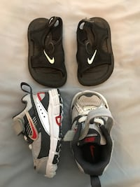 Boys nike shoes and sandals Leander, 78641