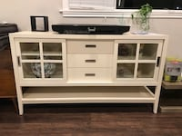 Crate and Barrel TV Stand Media Console Cabinet