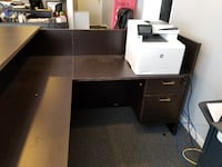 Receptionist desk Round Hill