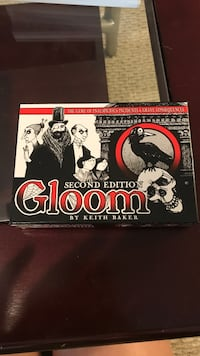 Gloom 2-4 player card game Kennesaw, 30152