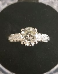 Beautiful White Gold Ring With Diamond  Mission, 78572