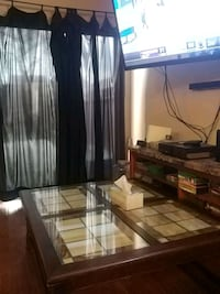 Solid wood stain glass coffee table Albuquerque, 87120
