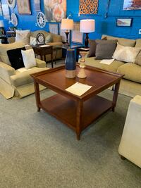Square Brown Table Gaithersburg