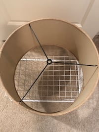 """17"""" Burlap Lampshade from Lowe's  Mount Holly, 28120"""