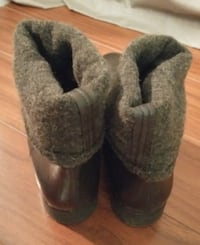 OXS MEN'S SIZE 39.5 LEATHER BOOTS