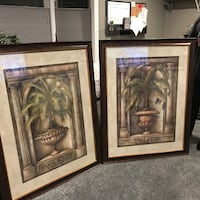 Art work 39x50 palm pictures Tinton Falls, 07724