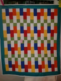 """Baby Quilt with Machine Quilting, Size: 38"""" x 44"""" Cambridge, N1R 1N2"""