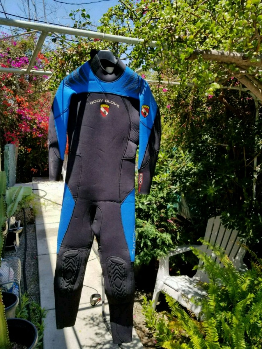 Body Glove EXO 7mm Black Large Size Suit