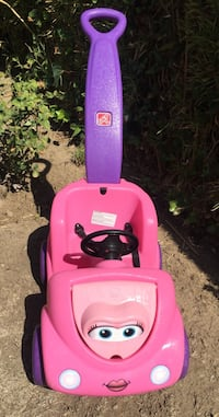pink and purple Little Tikes cozy coupe Los Angeles, 91303