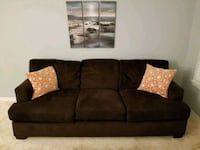 Contemporary fabric 3-seat sofa Germantown, 20874