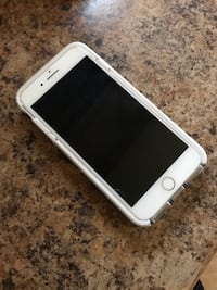 Silver iphone 7 with clear rear case Toronto, M9L 1K2