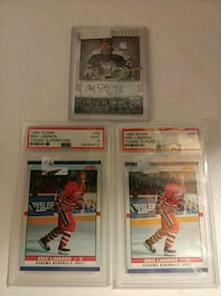 Eric Lindros rookie cards graded at a 9 Westland, 48185