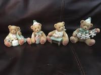 Collectible birthday bears