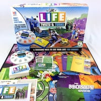 The Game Of Life Twists And Turns Board Game Visa Credit Card Electronic Banking Port Colborne