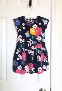 Baby girls floral dress size 2T- Brand New with tags Mississauga, L5M 0C5