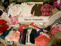 Babys assorted clothes