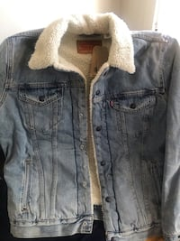 Levis denim jacket San Jose