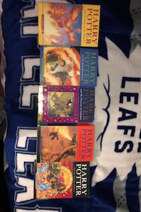5 Harry Potter Books, respectable to like new condition/ Paperback Guelph, N1K 1M2